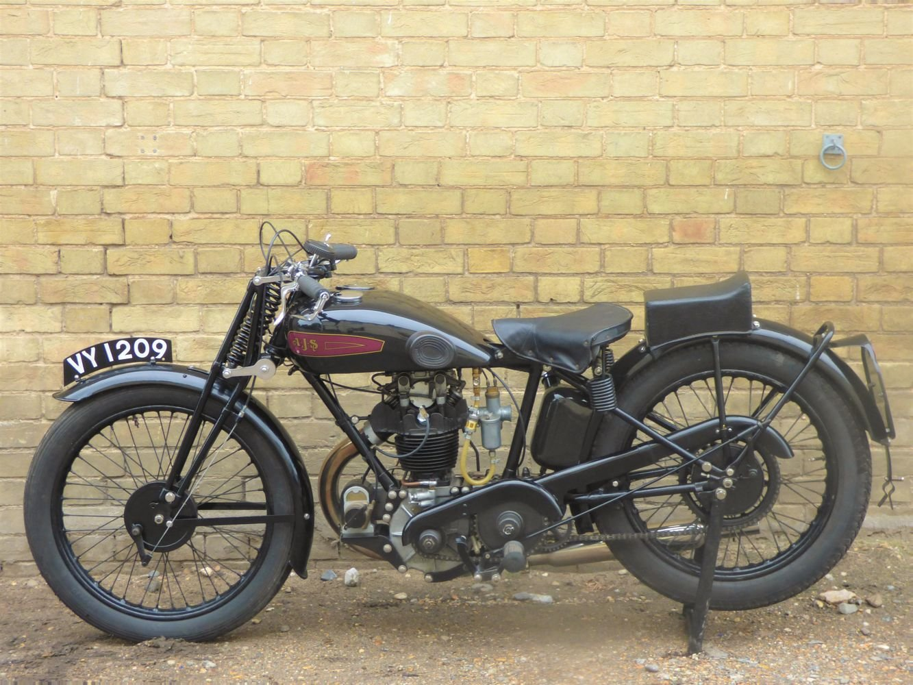 1929 AJS Model M7 350cc OHC For Sale (picture 2 of 6)