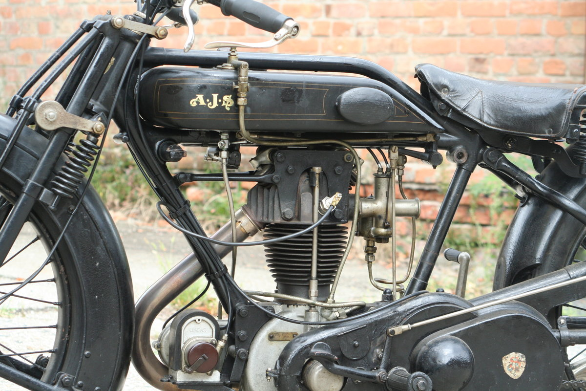 AJS G8 1926 500 OHV For Sale (picture 4 of 6)
