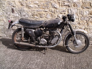 1954 AJS 350 Single 16MS barn find Leeds Classic bike For Sale