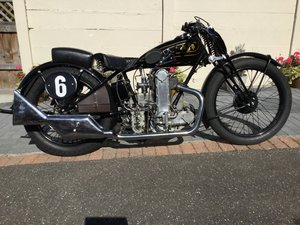 1930 AJS R7 OHC Vintage  For Sale