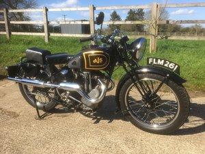1938 AJS Model 26. 350cc