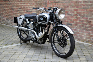 1939 AJS 26 Silver Streak For Sale by Auction