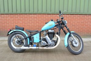 1949 AJS 500 Custom Bobber For Sale by Auction