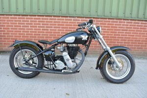 1949 AJS / Matchless 500 Custom Bobber For Sale by Auction