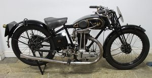 1931 AJS  Big Port 350 cc Beautiful Condition
