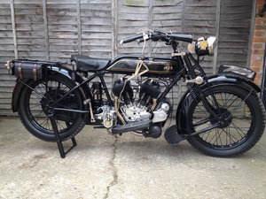 1928 ajs k1 v twin - rare with excellent history