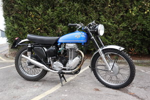 AJS 1955 18CS 500cc Competition Scrambler.  For Sale