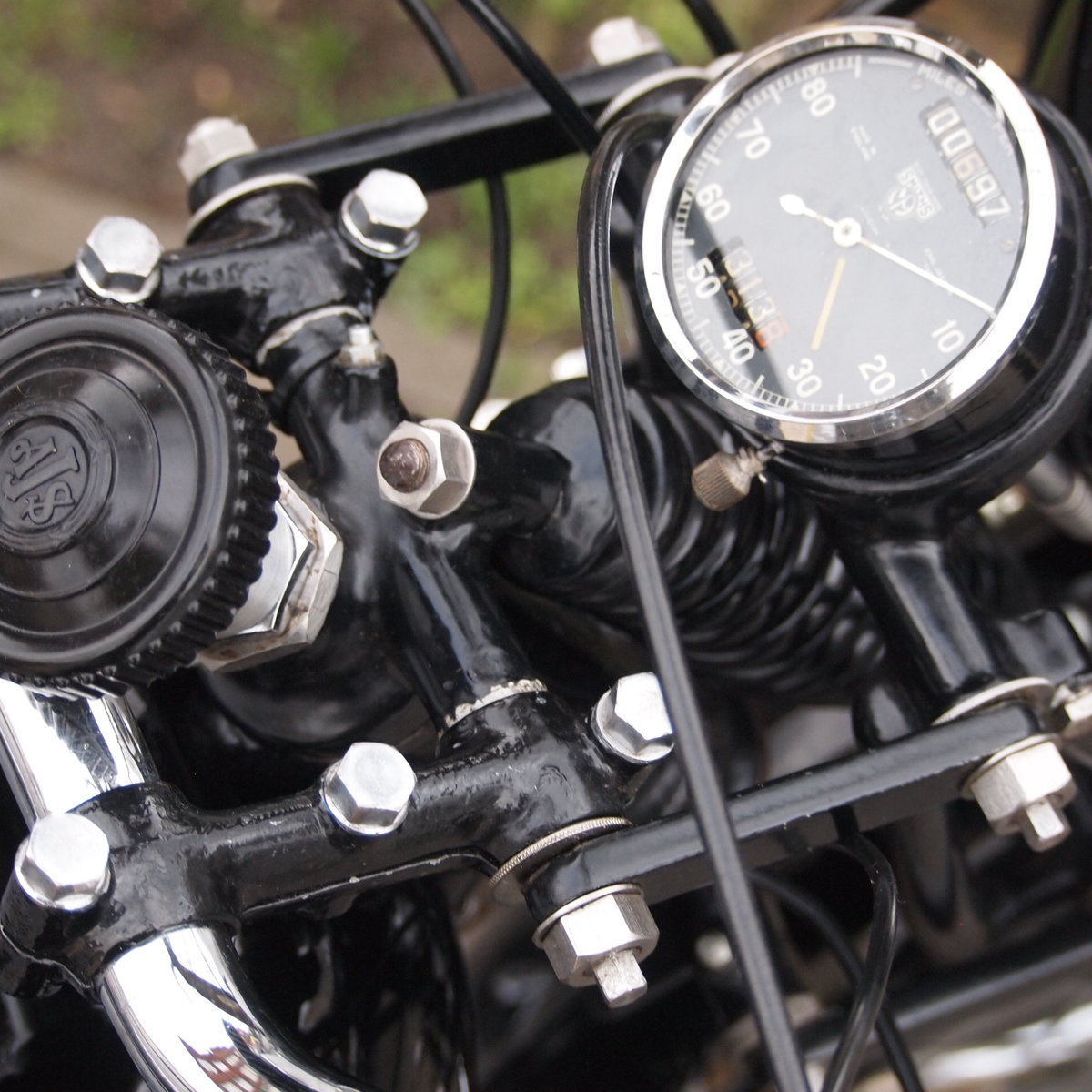 1938 AJS 350 Model 26 In Very Usable Condition. SOLD (picture 4 of 6)