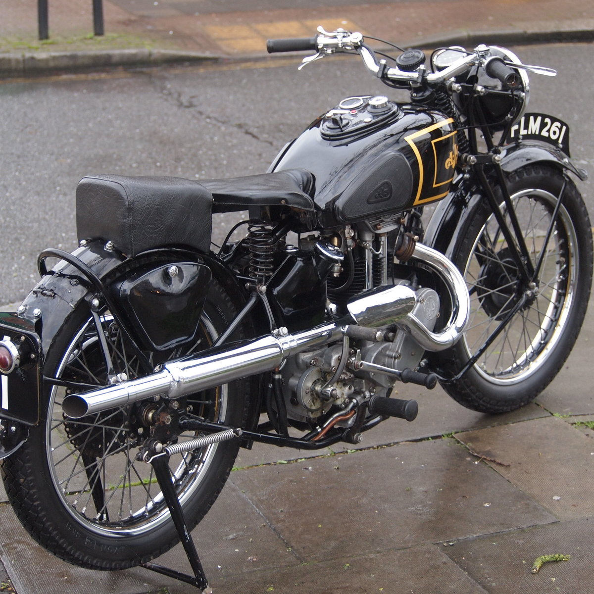 1938 AJS 350 Model 26 In Very Usable Condition. SOLD (picture 6 of 6)