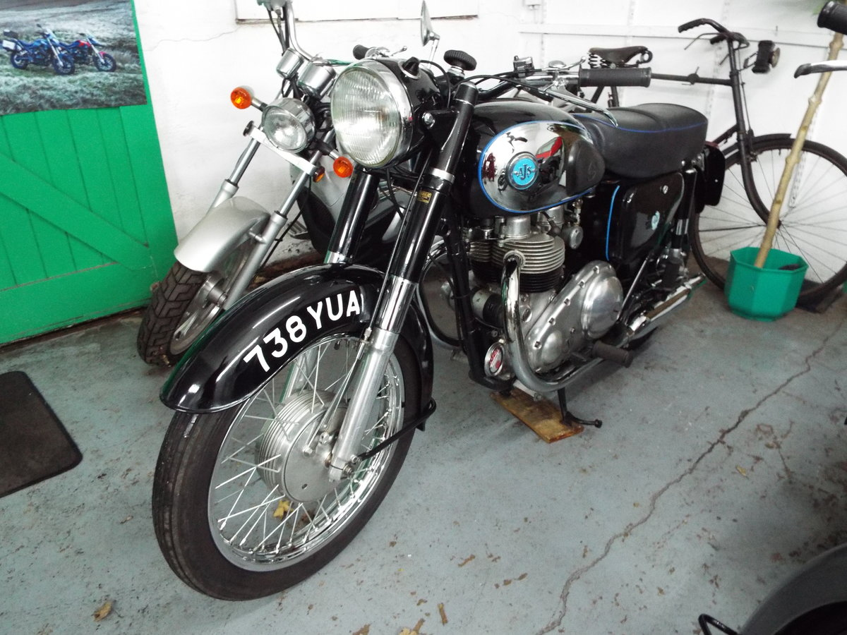 AJS 650 twin 1959 Model 31 For Sale (picture 1 of 6)