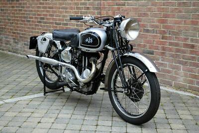 AJS SILVER STREAK 350cc model 26SS 1939 Beautiful restored e For Sale