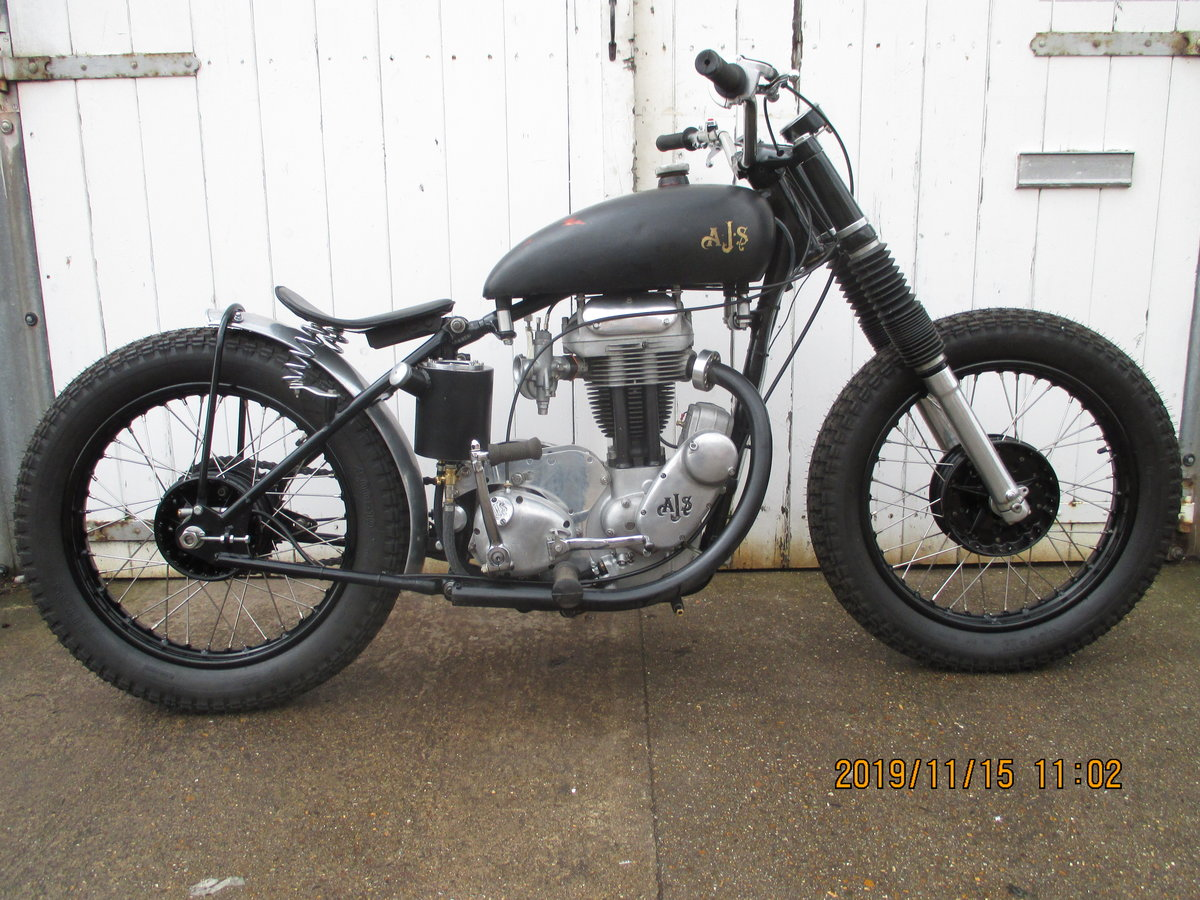 1957 16ms ajs flat tracker For Sale (picture 1 of 6)