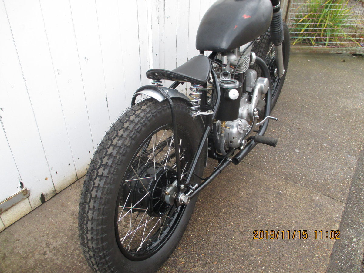 1957 16ms ajs flat tracker For Sale (picture 4 of 6)