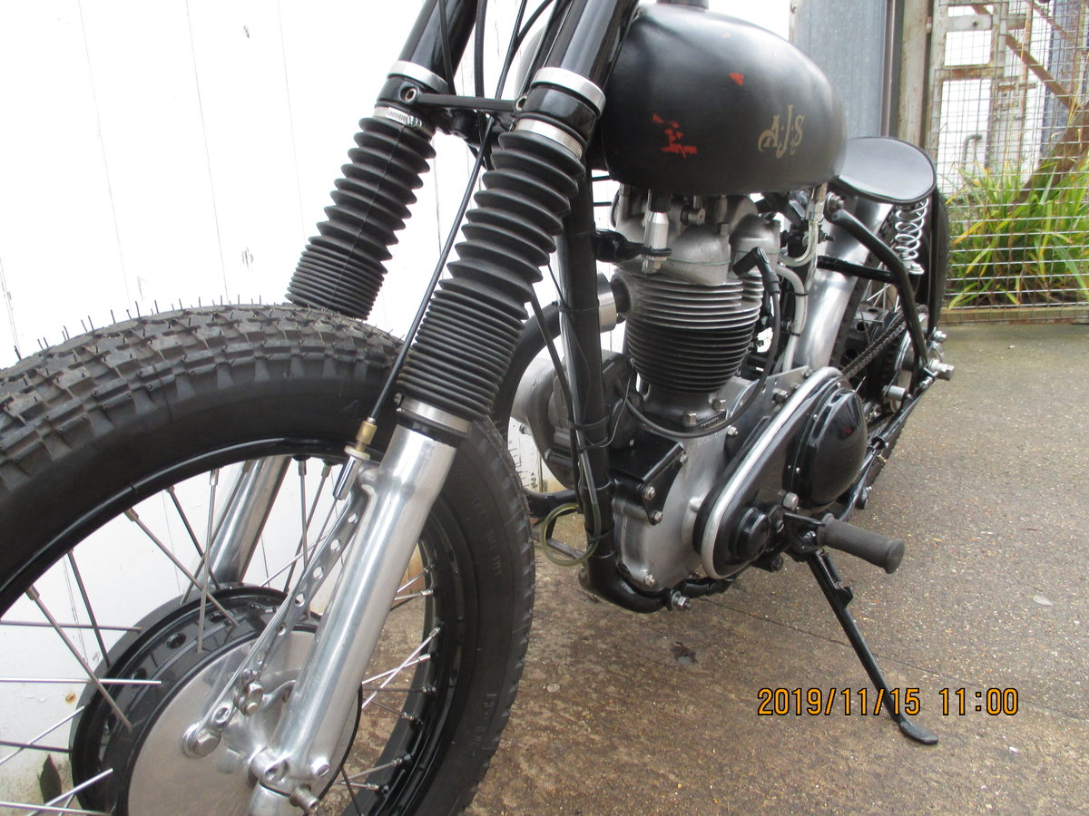 1957 16ms ajs flat tracker For Sale (picture 5 of 6)