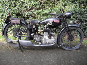1929 AJS M4 Sports  deluxe