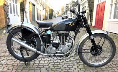 1949 AJS 16MC For Sale by Auction