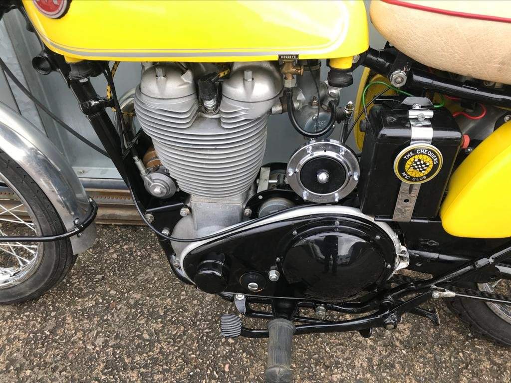 1960 AJS 500 MINT BIKE COMP MOTOR READY TO RIDE OFFERS PX TRIALS  For Sale (picture 4 of 6)