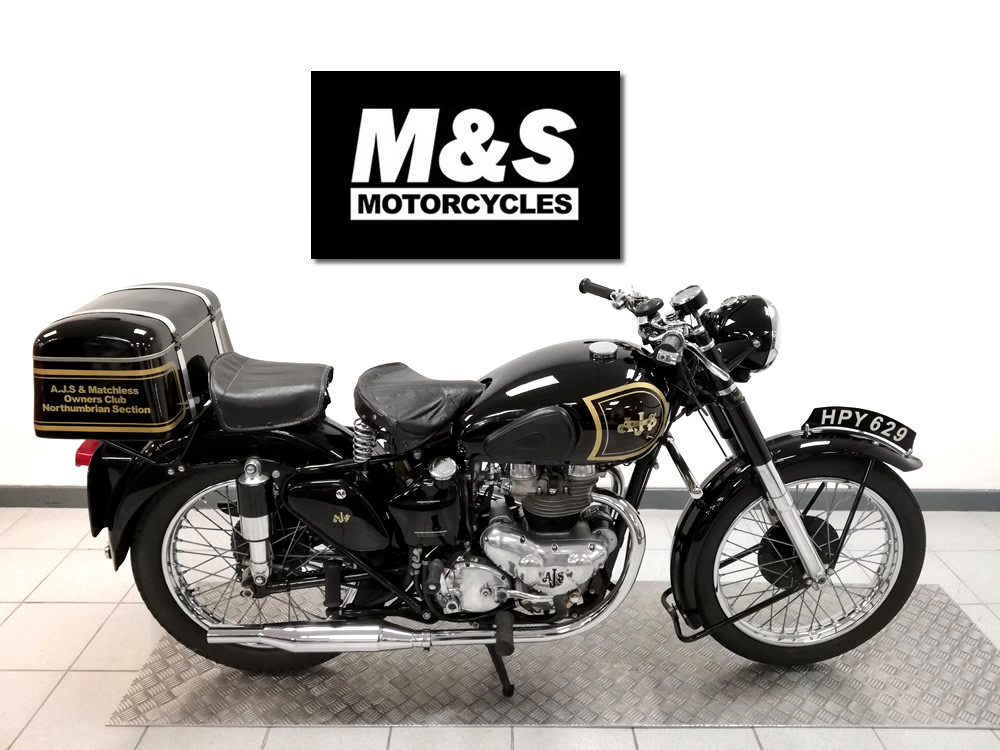 1952 AJS Model 20 500cc For Sale (picture 1 of 6)