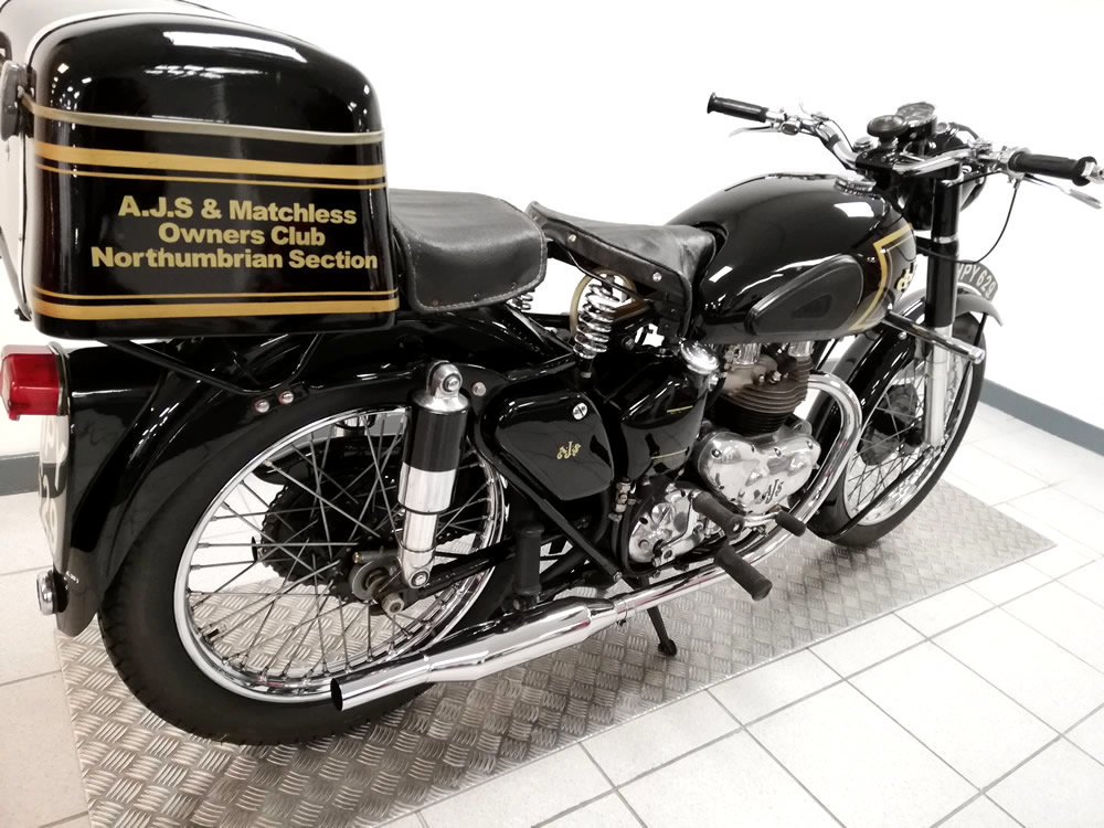 1952 AJS Model 20 500cc For Sale (picture 3 of 6)