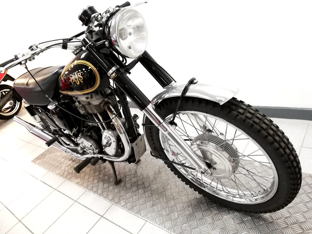 1953 1954 AJS Scrambler 350cc For Sale (picture 2 of 6)