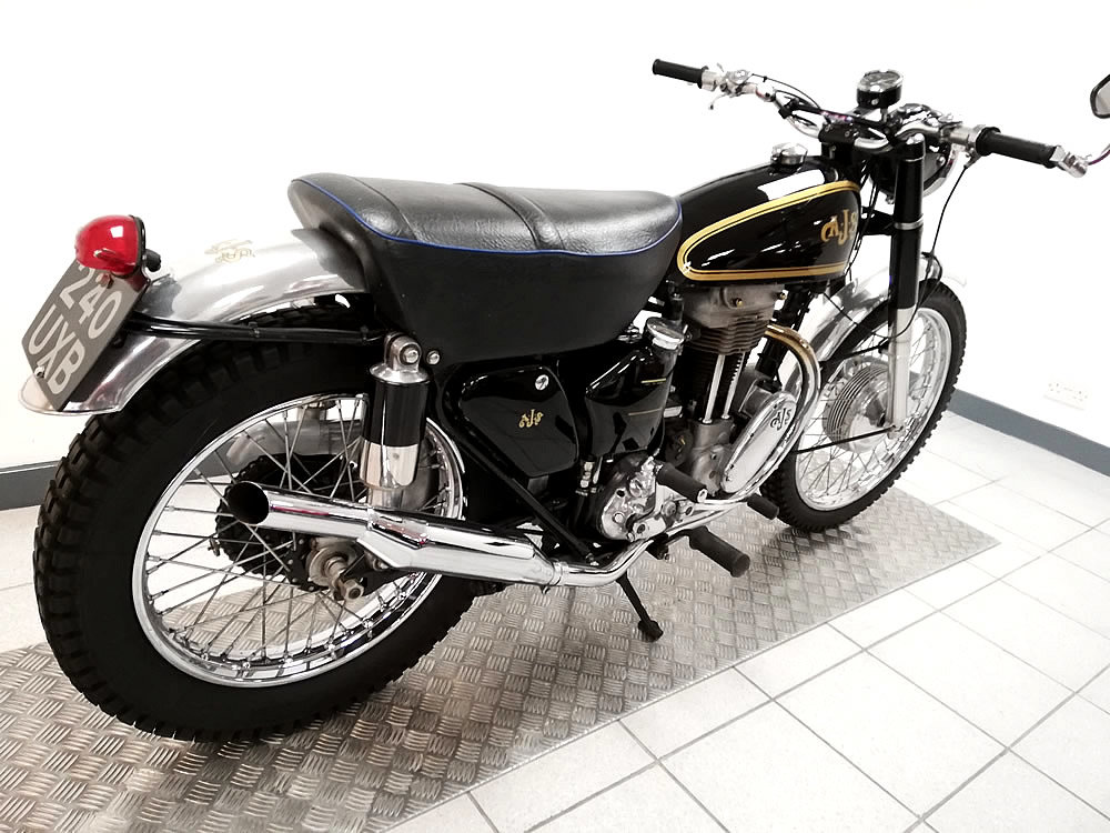 1953 1954 AJS Scrambler 350cc For Sale (picture 3 of 6)