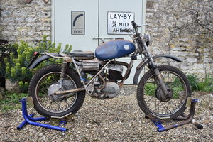1969 AJS 37AT twin shock trials bike - 06/05/20 SOLD by Auction
