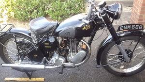1946 ajs 16m rigid frame