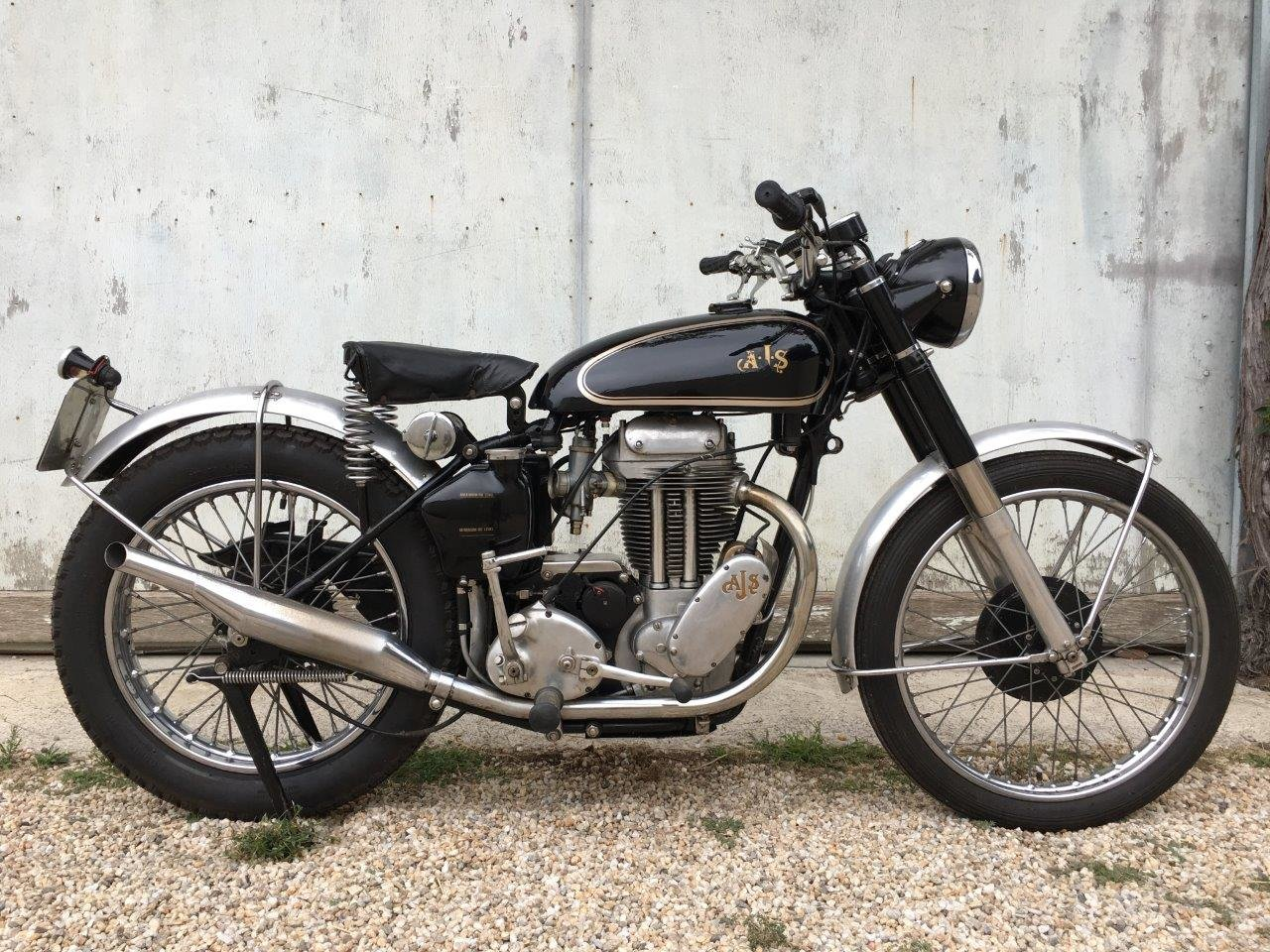 1952 AJS 500/18 Competition Trial, rare rigid frame ! SOLD (picture 1 of 6)