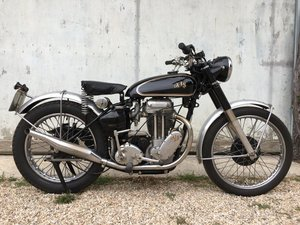 AJS 500/18 Competition Trial, rare rigid frame !