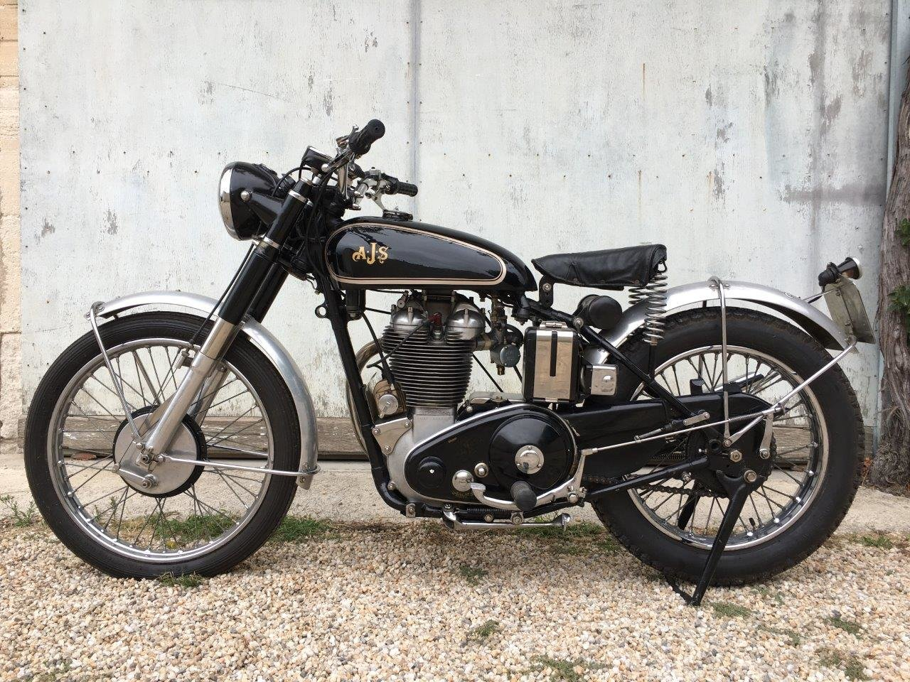 1952 AJS 500/18 Competition Trial, rare rigid frame ! SOLD (picture 2 of 6)