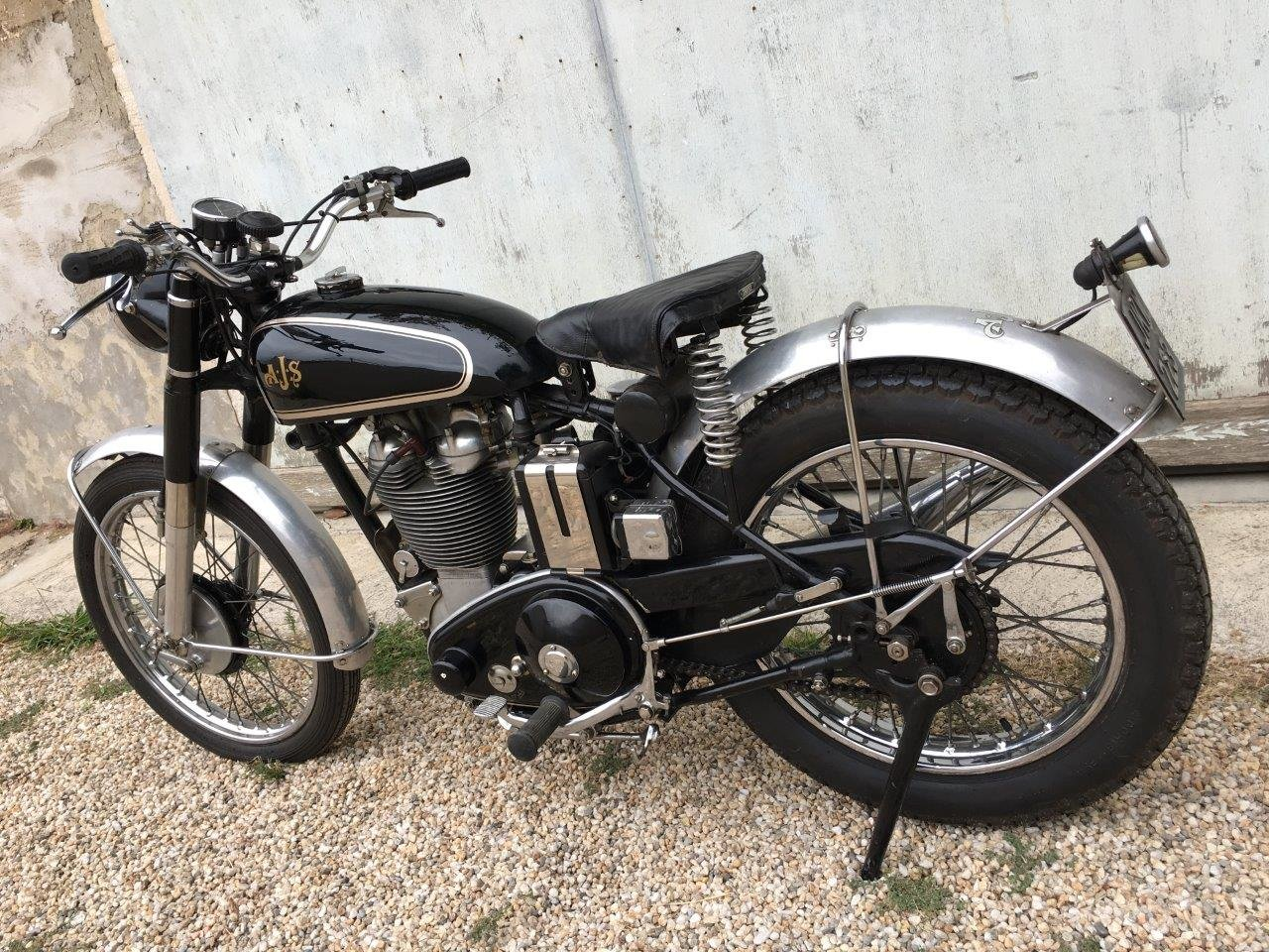1952 AJS 500/18 Competition Trial, rare rigid frame ! SOLD (picture 3 of 6)