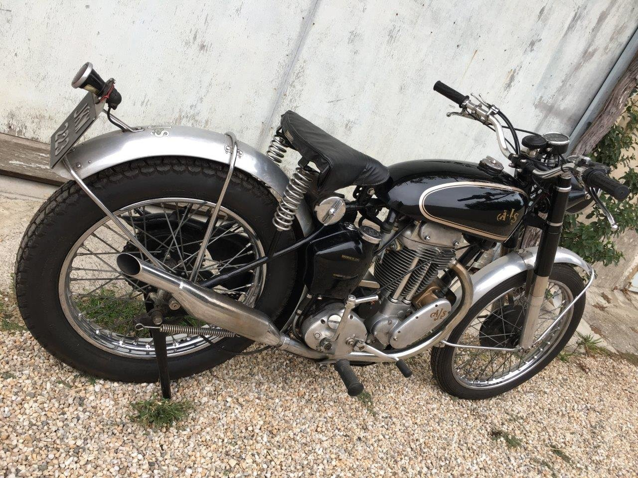 1952 AJS 500/18 Competition Trial, rare rigid frame ! SOLD (picture 4 of 6)