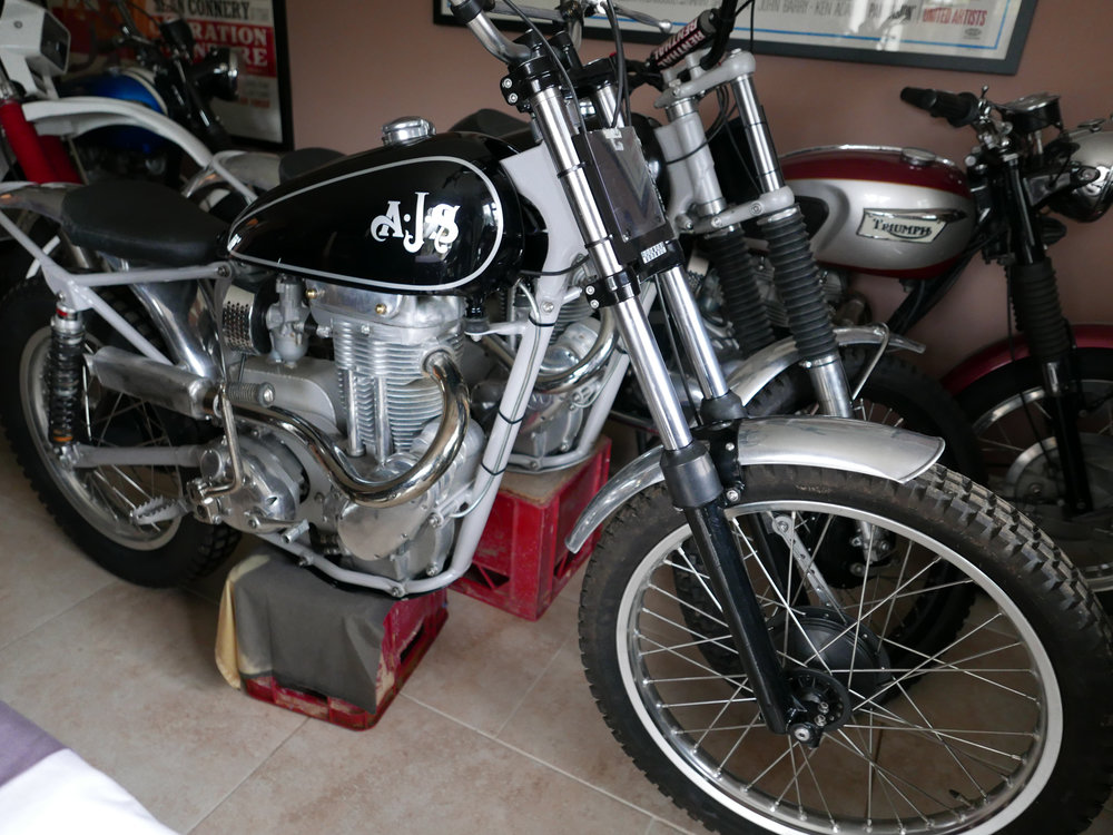 1964 AJS 410cc Trials Special For Sale (picture 1 of 6)