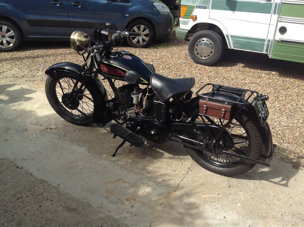 1930 Ajs r2 v Twin, sidevalve, 996cc, For Sale (picture 1 of 6)