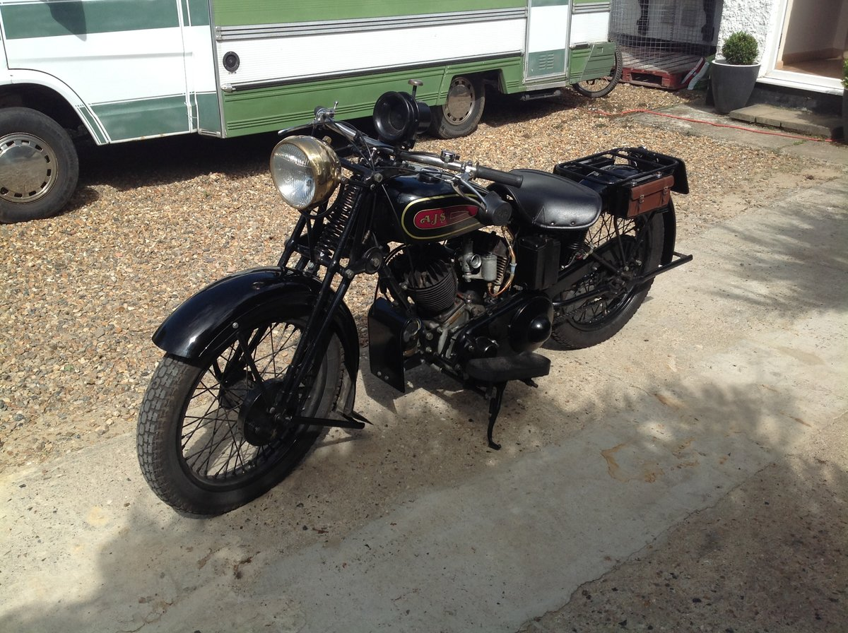 1930 Ajs r2 v Twin, sidevalve, 996cc, For Sale (picture 2 of 6)