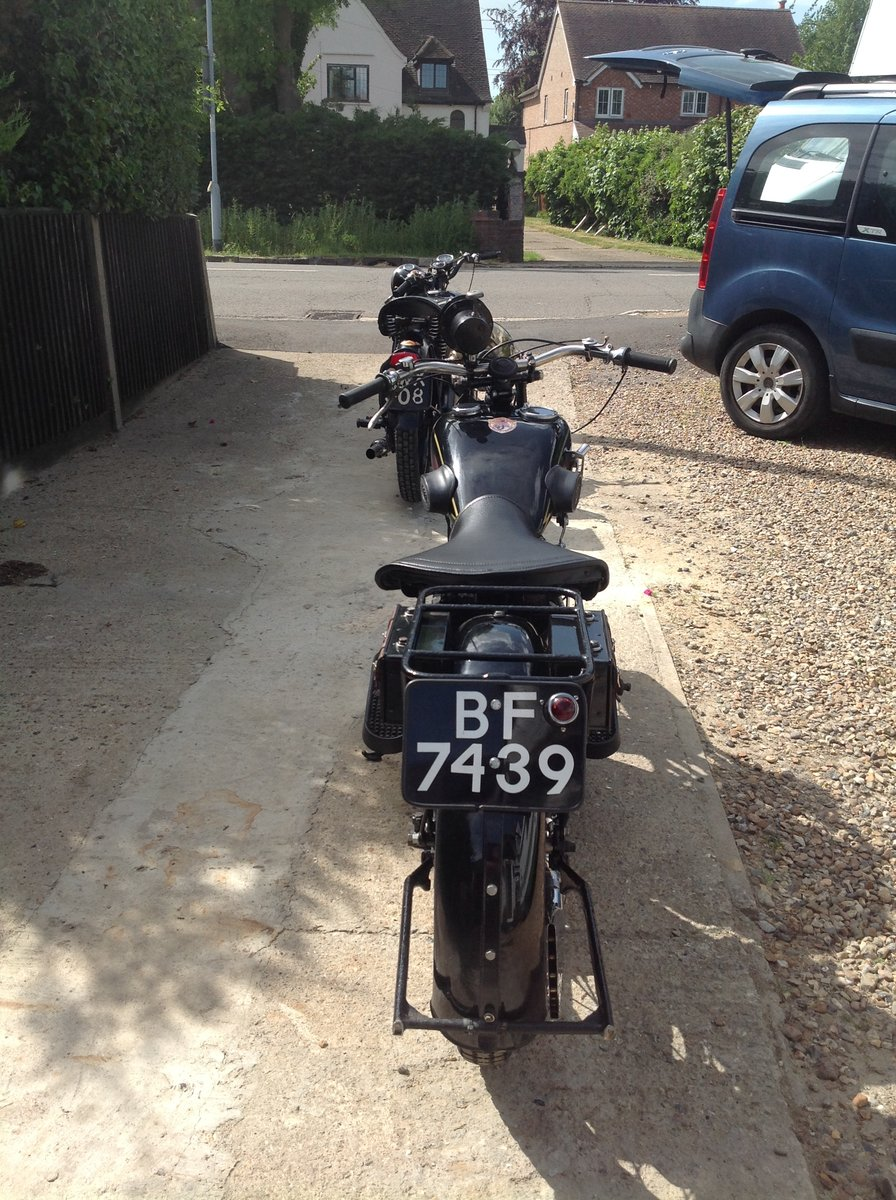 1930 Ajs r2 v Twin, sidevalve, 996cc, For Sale (picture 3 of 6)