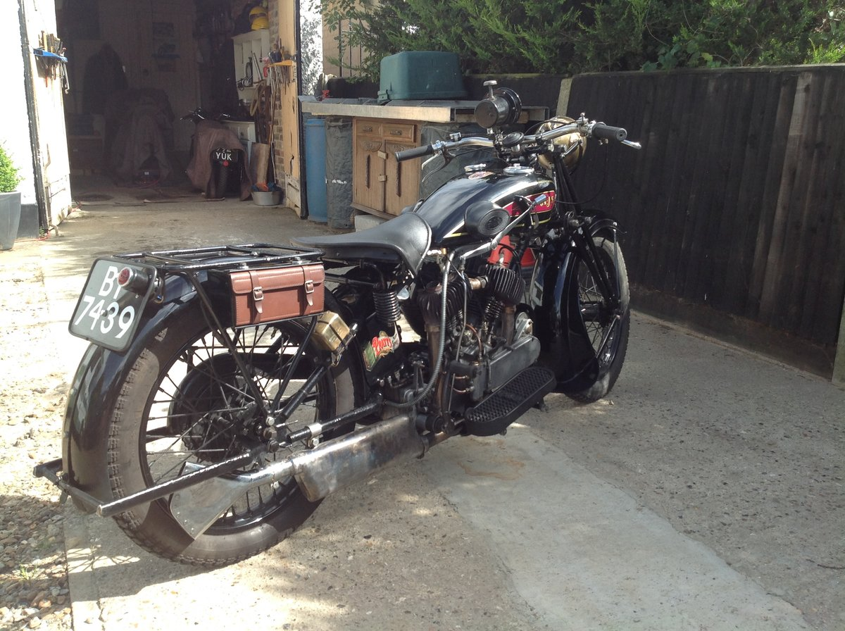 1930 Ajs r2 v Twin, sidevalve, 996cc, For Sale (picture 4 of 6)