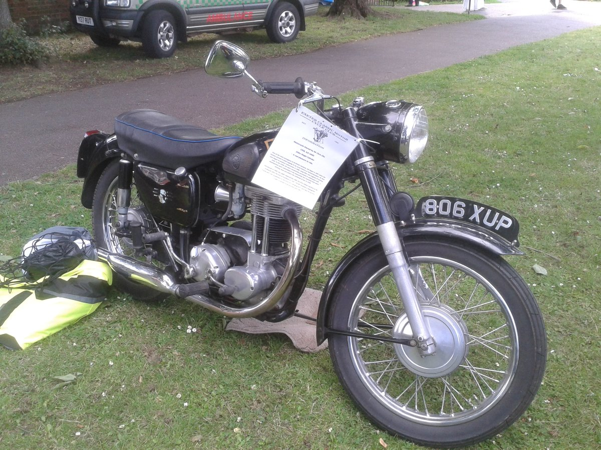 1958 350cc AJS in original condition For Sale (picture 1 of 5)