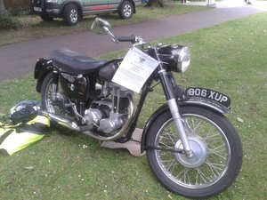 350cc AJS in original condition