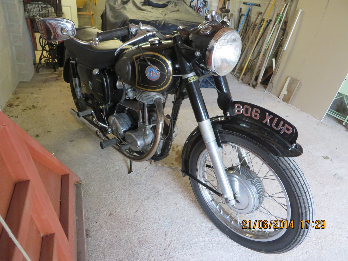 1958 350cc AJS in original condition For Sale (picture 5 of 5)