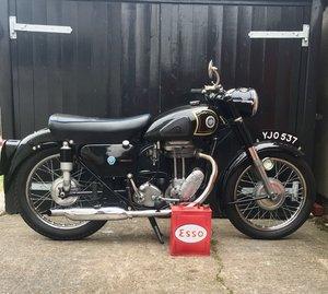 stunning ajs 18s 500cc thumper