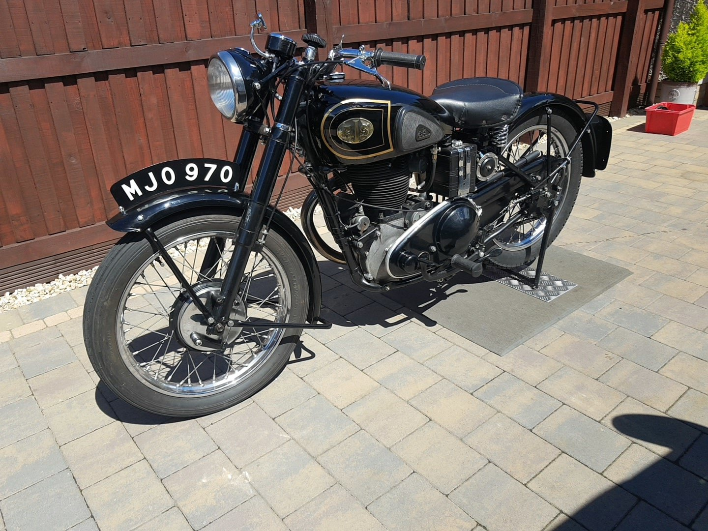 1948 AJS 500 single  For Sale (picture 2 of 6)