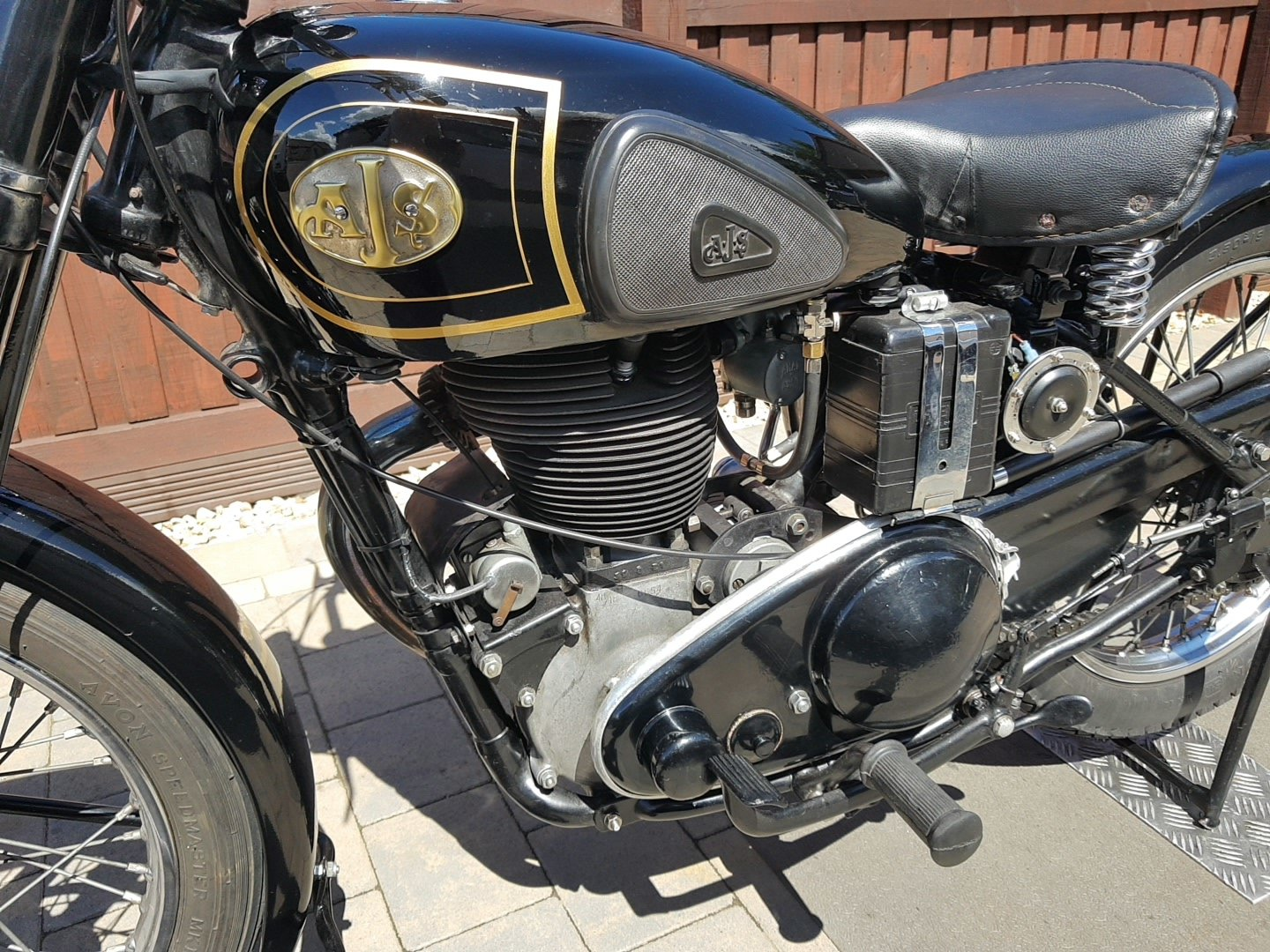 1948 AJS 500 single  For Sale (picture 3 of 6)