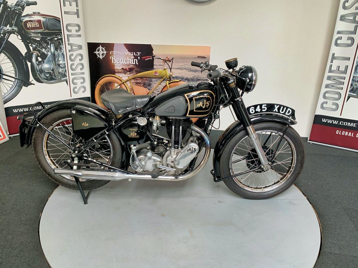 1948 AJS model  350cc For Sale (picture 1 of 6)