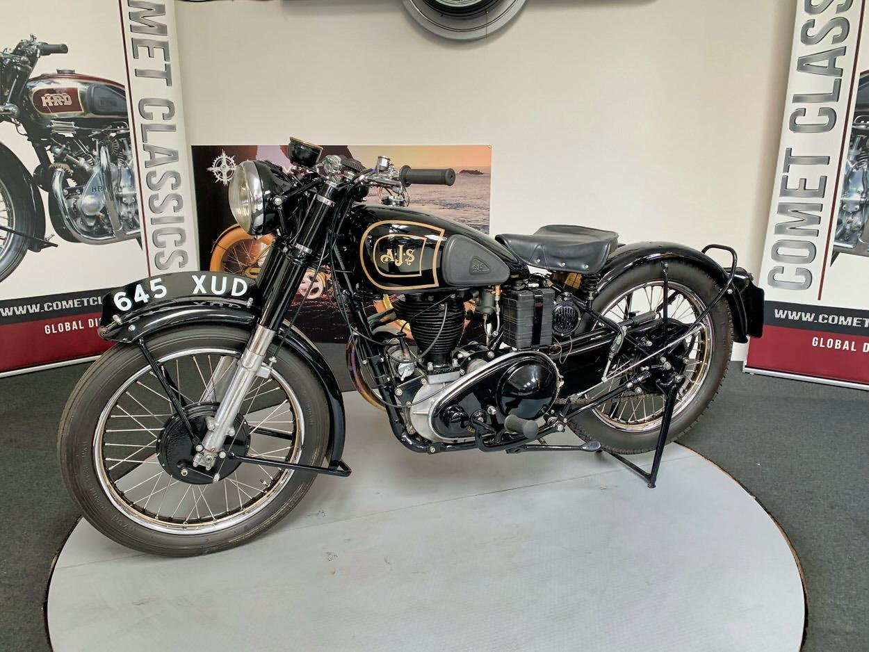 1948 AJS model  350cc For Sale (picture 4 of 6)