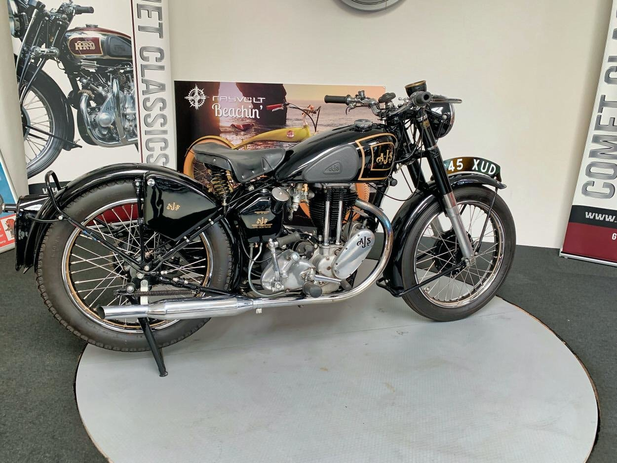 1948 AJS model  350cc For Sale (picture 5 of 6)