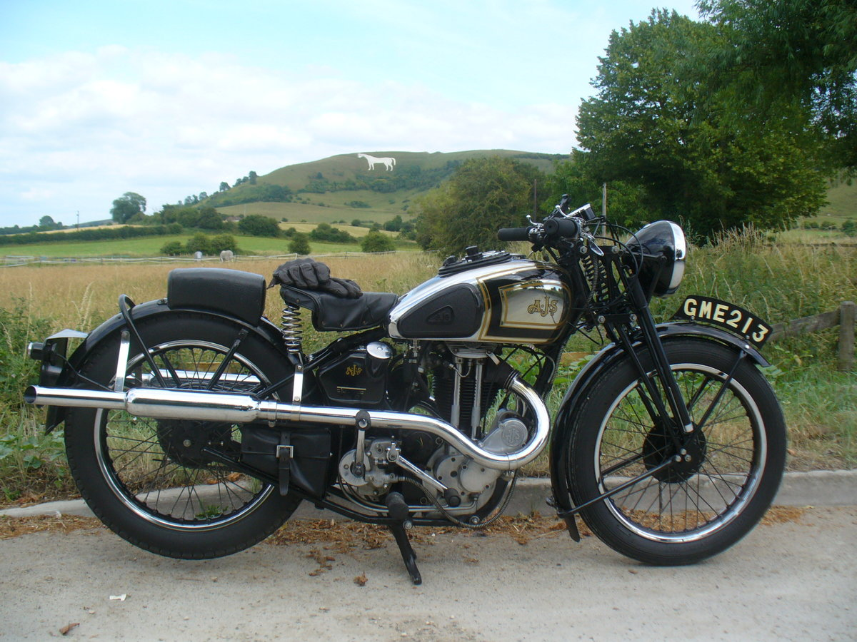 1937 AJS Model 26 Twin Port For Sale (picture 1 of 6)