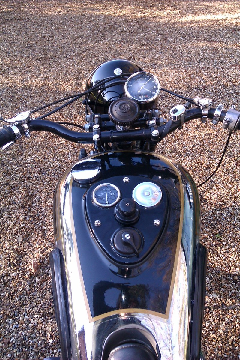 1937 AJS Model 26 Twin Port For Sale (picture 5 of 6)