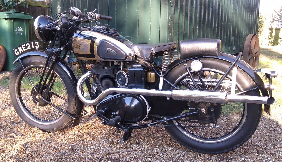 1937 AJS Model 26 Twin Port For Sale (picture 6 of 6)