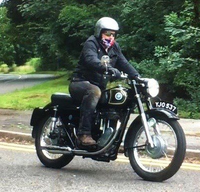 1956 stunning ajs 18s 500cc thumper For Sale (picture 1 of 5)